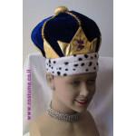 כובע מלך כחול