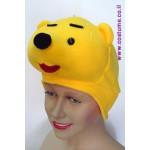 כובע דובון צהוב