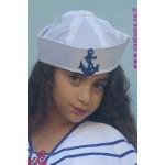 כובע מלח עם סמל רקום
