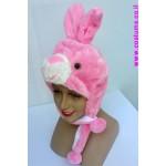 כובע ארנב /שפן ורוד מעוצב