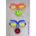 משקפיים עם אף מהבהב