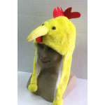 כובע תרנגול בצהוב