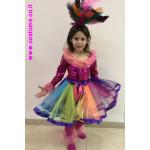 תחפושת רקדנית סמבה ילדות