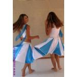 חצאית-כחול-לבן