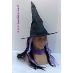 כובע מכשפה שחור
