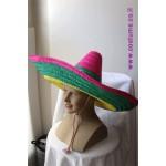 כובע סומבררו צבעוני למקסיקני