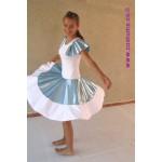 שמלה-כחול-לבן