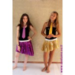 תלבושת להשכרה חצאית פייטים