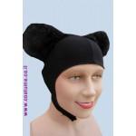 כובע עכבר תפור מפרווה