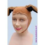 כובע כלב בולדוג תפור
