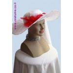 כובע ליידי בלבן