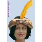 כובע אלאדין עם נוצה