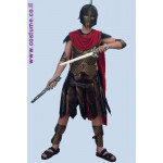 גלימה ללוחם רומאי  / גלדיאטור