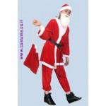 חליפת סנטה קלאוס מקטיפה