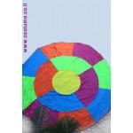 מצנח צבעוני  עגול 3.6 מ