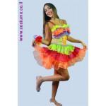 שמלת קרנבל צבעונית
