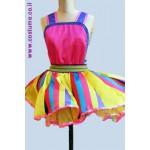 סרבל חצאית פסים- בגדי ליצנים