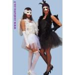 תחפושת זוגית-ברבור לבן וברבור שחור