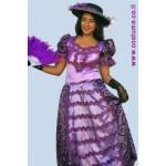 שמלה מלכותית בסגול