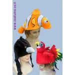 כובעי חיות מעוצבים