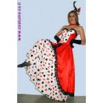 שמלת קברט/ מלכת הקלפים