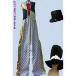 תלבושת קוסם להולך קביים