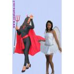 תחפושת זוגית-מלאך ושטן