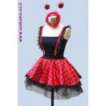 חצאית אדומה לחיפושית