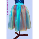 """חצאית אורגנזה 75 ס""""מ גוונים מתחלפיםב"""