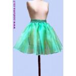 """חצאית אורגנזה 50 ס""""מ במגוון צבעים מידות גדולות"""