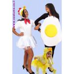 תחפושת מקורית-התרנגולת הביצה והאפרוח