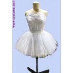 חצאית וחולצת קולר שחור או לבן