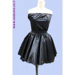 חצאית וסטרפלס שחור או לבן
