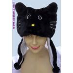 כובע חתול שחור או לבן מעוצב