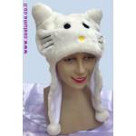 כובע חתול - לבן