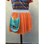 חצאיות שונות עם כיס תלוי