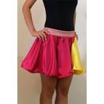 חצאית בשילוב שני גוונים