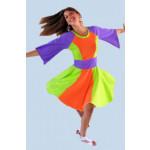 שמלות בשילובים צבעוניים